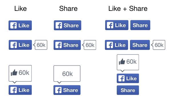 Крупнейшая в мире соцсеть Facebook обновила дизайн кнопок Like